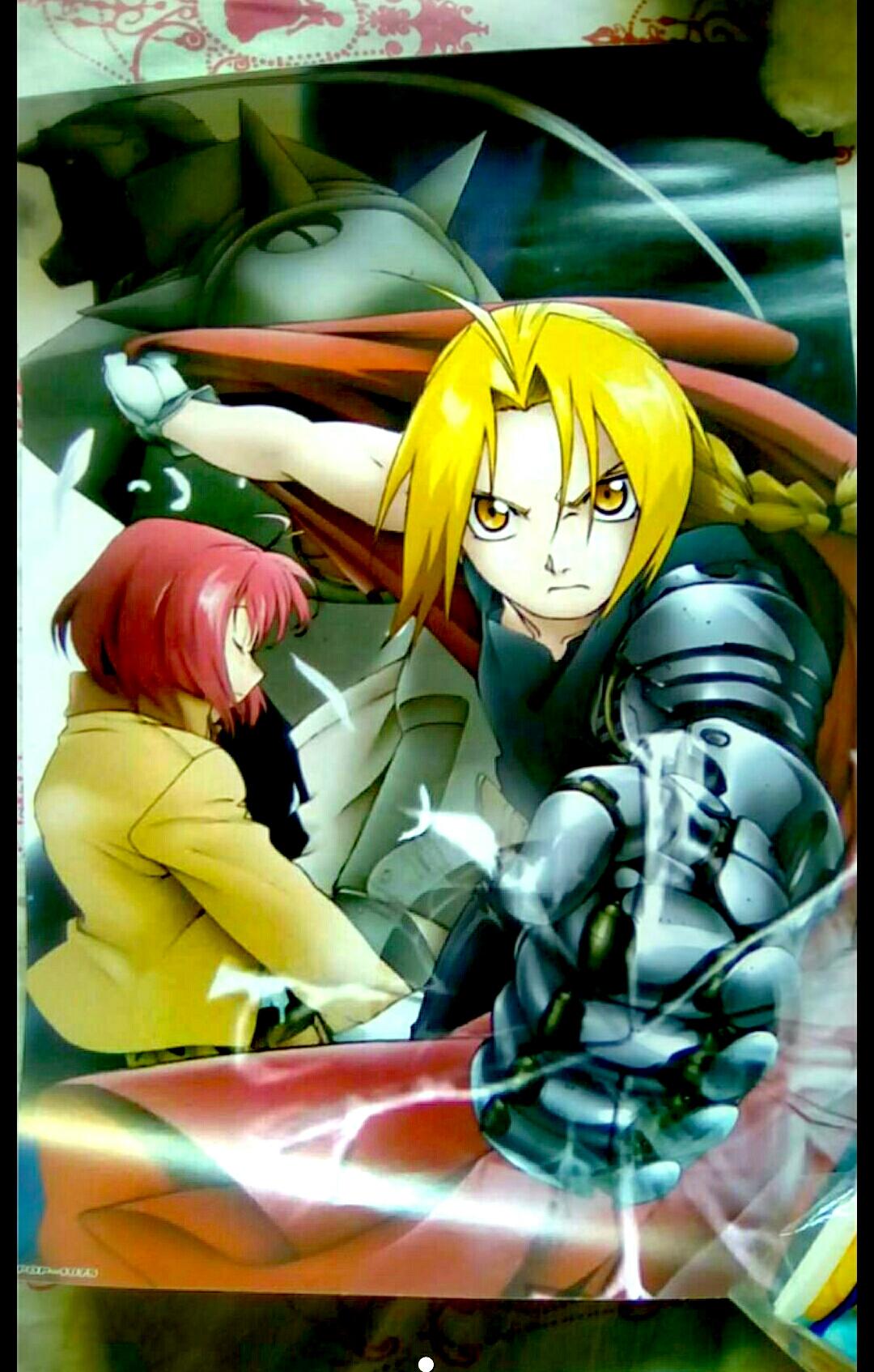 Poster Fullmetal Alchemist - PetiteHanaShop